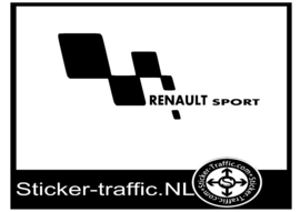 Renault sport deurpaneel sticker