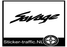 Suzuki savage sticker