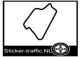 Silverstone international circuit sticker