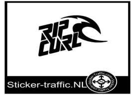 Rip curl skateboard sticker