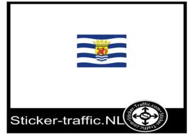 Zeeuwse vlag sticker