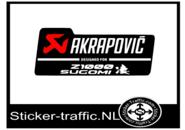 Akrapovic Z1000 Sugomi Sticker Fullcolour