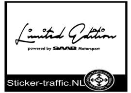 SAAB Limited Edition Sticker