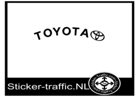 Toyota rond remklauw sticker