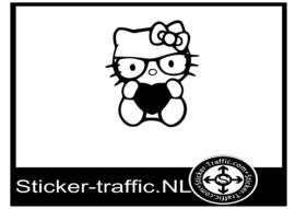 Hello Kitty design 4 sticker