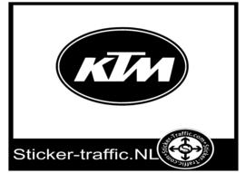 KTM design 4 sticker
