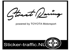 TOYOTA Street Racing Sticker