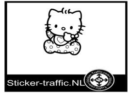 Hello Kitty design 6 sticker