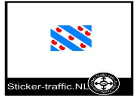 Friese vlag sticker