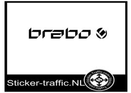 Brabo hockey sticker