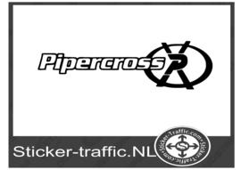 Pipercross sticker