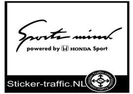 HONDA Sports Mind Sticker