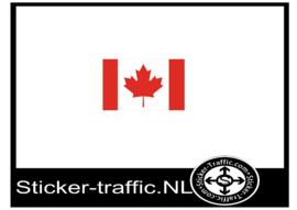 Canada vlag Sticker