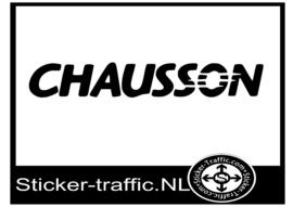 Chausson caravan sticker