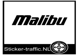 Malibu design 1 sticker