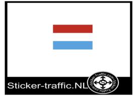 Luxemburgse vlag sticker