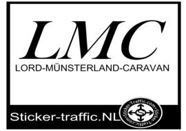 LMC caravan sticker