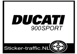 Ducati 900sport sticker