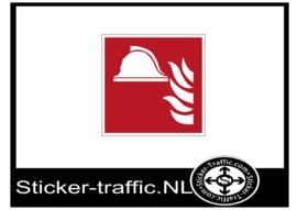 Brand helm sticker