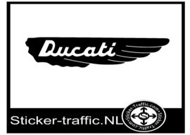 Ducati Vleugel sticker