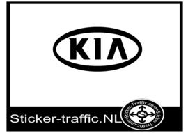 Kia logo sticker
