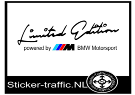 Limited Edition Stickers auto merken