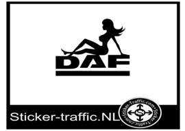 Daf pinup sticker