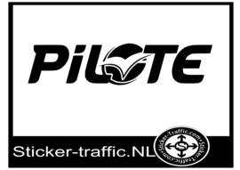 Pilote caravan sticker