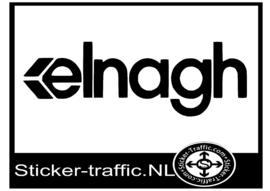 Elnagh caravan sticker
