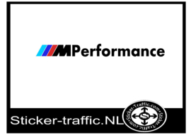 BMW performance sticker