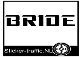 Bride Tuning sticker