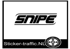 Snipe hockey sticker