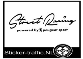 PEUGEOT Street Racing Sticker