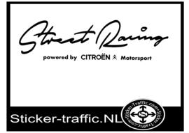 CITROEN Street Racing Sticker