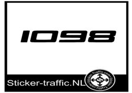 Ducati 1098 sticker