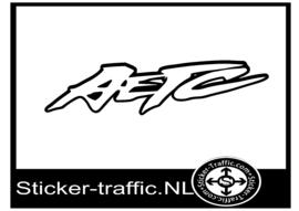 Suzuki AETC sticker