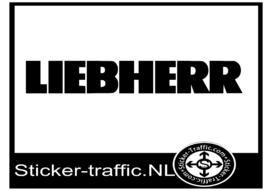 Liebherr caravan sticker