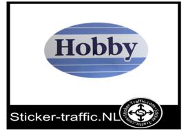 Hobby logo fullcolour sticker