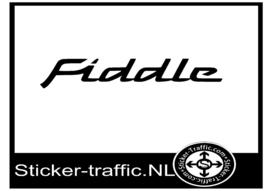 Fiddle sticker