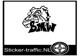 BMW Bulldog sticker