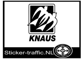 Knaus caravan sticker