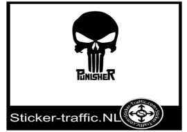 Punisher design 1 sticker