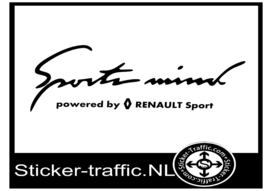 RENAULT Sports Mind Sticker
