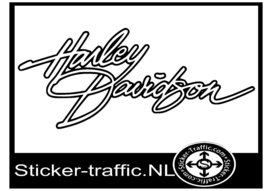 Harley Davidson design 2 sticker