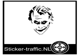 Joker design 3 sticker