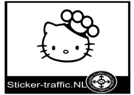 Hello Kitty design 16 sticker