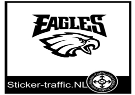 Philadelphia Eagles rugby sticker