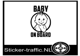 Baby on board design 7 sticker
