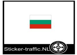 Bulgarije vlag sticker
