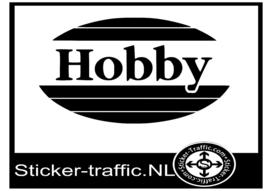 Hobby logo caravan sticker
